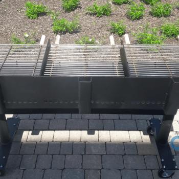 Grill węglowy - przemysłowy