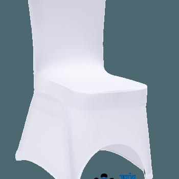 Krzesło bankietowe w białym pokrowcu