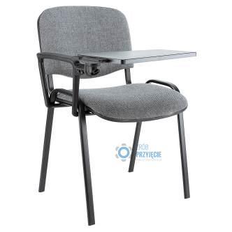 Krzesło tapicerowane z pulpitem konferencyjnym