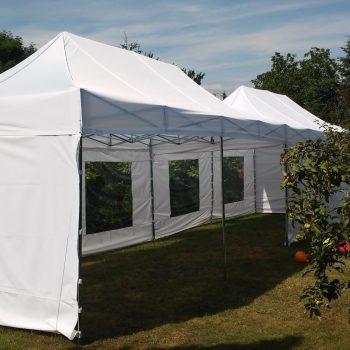 Namiot biały 3x9m, 20 do 30 osób