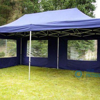 Namiot niebieski 3x6m, 10 do 20 osób