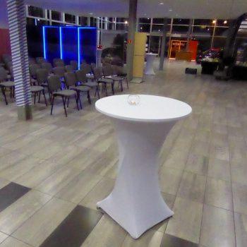 Stół okrągły bankietowy BELLA 8 osobowy