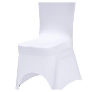 Krzesło bankietowe z białym pokrowcem