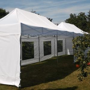 Namiot dla 15 osób – biały – 3x6m – 18m2