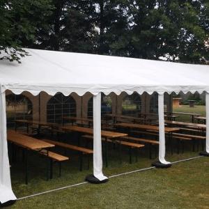 Namiot dla 50 osób – biały – 6x12m – 72m2