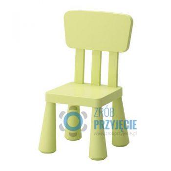 Krzesła dla dzieci - krzesło zielone