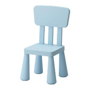 Krzesła dla dzieci - krzesło niebieskie