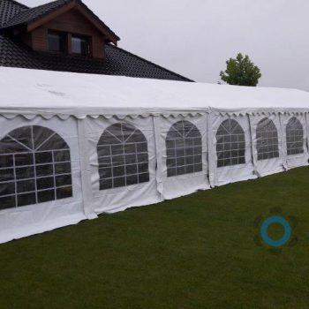 Namiot biały 6x18m, 100 do 120 osób