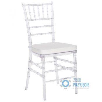 Krzesło Chiavari przeźroczyste