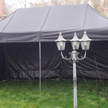 Namiot dla 15 osób – czarny – 3x6m – 18m2