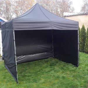 Namiot dla 8 osób – czarny – 3x3m – 9m2