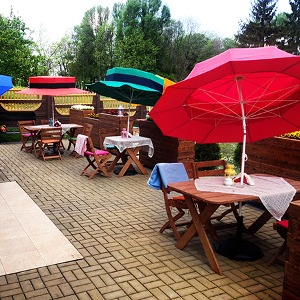 Parasol ogrodowy dla dzieci
