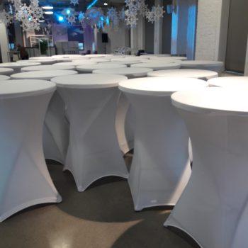 Stół okragły koktajlowy fi 80cm