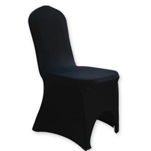 Krzesło bankietowe z czarnym pokrowcem