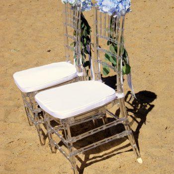 Krzesło Chiavari transparentne