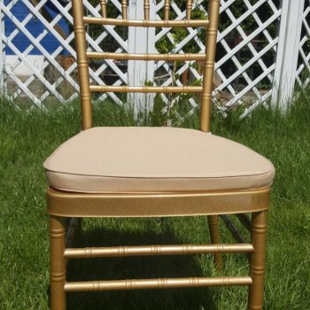 Krzesło Chiavari złote