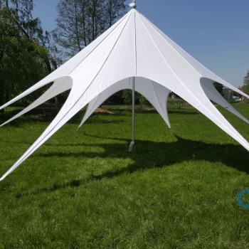 Namiot typu gwiazda dla 64 osób - z 1 masztem