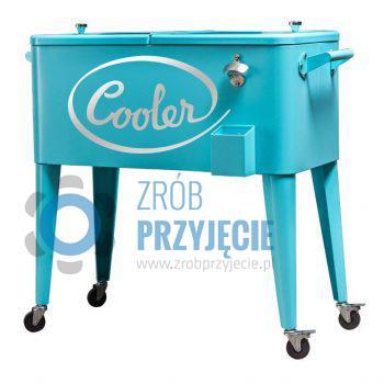 Cooler ogrodowy - niebieski
