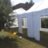 Namiot dla 36 osób – biały – 3x12m – 36m2