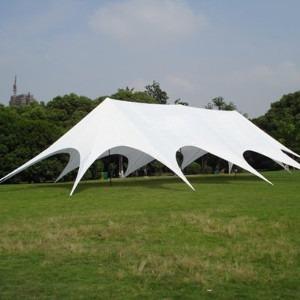 Namiot typu gwiazda dla 160 osób - z 3 masztami