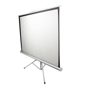 Ekran projekcyjny, statywowy, ręczny