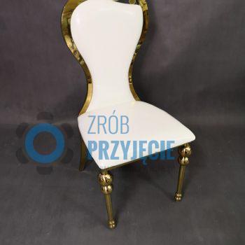 Krzesła dekoracyjne - złote
