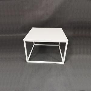 Stół kawowy biały 60x60