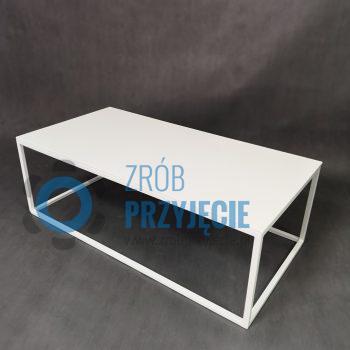 Stół kawowy biały 60x120