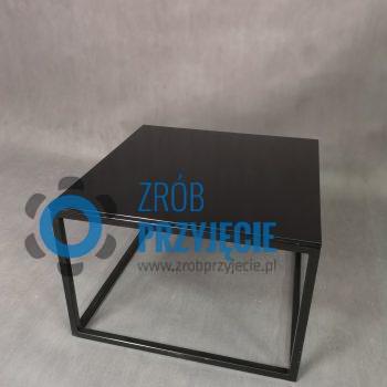 Stół kawowy czarny 60x60