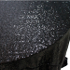 Obrus cekinowy czarny