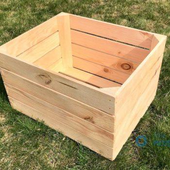 Skrzynka drewniana - pusta