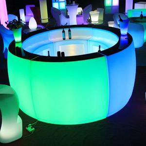 Bar LED okrągły / recepcja LED