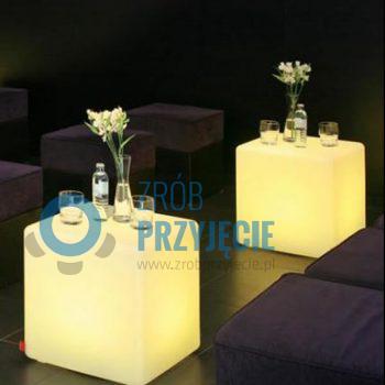 Kostka LED / stolik / Cube 50