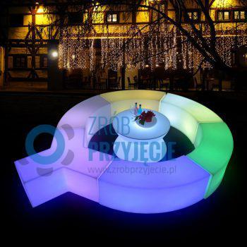 Pufa LED / snake / wąż LED