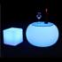 Stolik LED okrągły niski