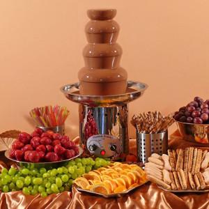 Fontanna czekoladowa dla maks 40/50 osób