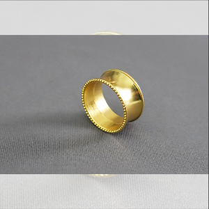 Obrączki na serwetki - obr03 - żółte złoto