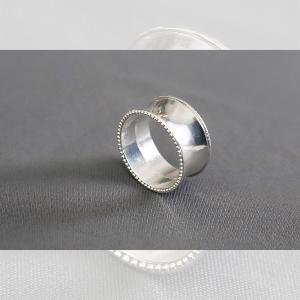 Obrączki na serwetki - obr04 - srebrny