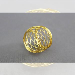 Obrączki na serwetki - obr05 - złoty