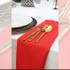 Serwetka bankietowa materiałowa - nr S04 - kolor czerwony