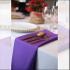 Serwetka bankietowa materiałowa - nr S06 - kolor fioletowy