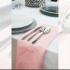 Serwetka bankietowa materiałowa - nr S07 - kolor jasny róż