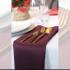 Serwetka bankietowa materiałowa - nr S12 - kolor śliwkowy