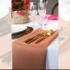 Serwetka bankietowa materiałowa - nr S16 - kolor jasnobrązowy