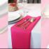 Serwetka bankietowa materiałowa - nr S18 - kolor ciemny róż