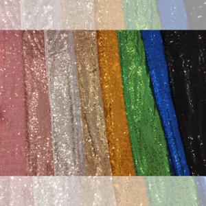 Bieżniki cekinowe w 8 kolorach